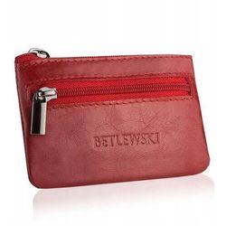 Etui na klucze betlewski bez-02 czerwone