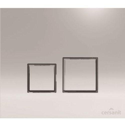 Cersanit przycisk target square chrom błysk