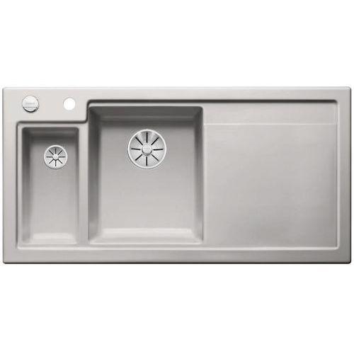 Zlew ceramiczny BLANCO AXON II 6 S - Szarość aluminium \ Lewa, 524146