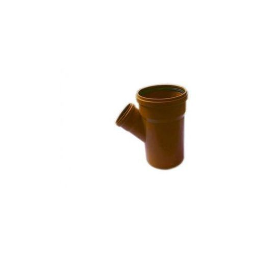 Trójnik kanalizacji zewnętrznej kz 200 x 110 / 45° 200 / 100 mm marki Poliplast