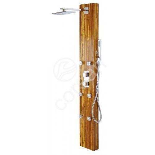 Corsan drewniany panel prysznicowy z mieszaczem W-013 JURA M
