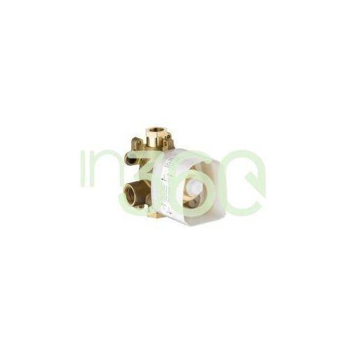 Axor starck showercollection zestaw podtynkowy do termostatu 12x12 dn20, element zewnętrzny 10754180