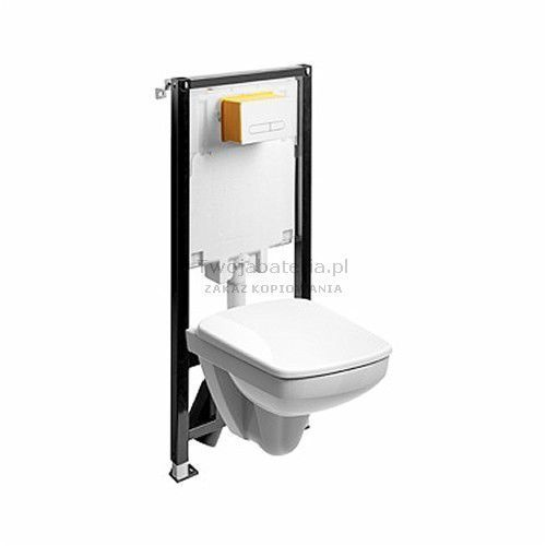 nova pro zestaw wc slim2 miska wc prostokątna krótka 99647000 marki Koło