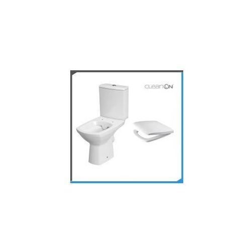 CERSANIT CARINA Kompakt WC Clean On + deska wolnoopadająca K31-044