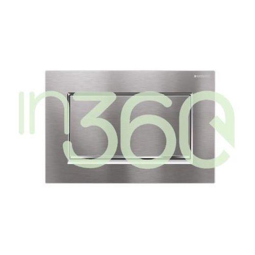 Geberit Sigma30 przycisk uruchamiający1m, przedni, chrom szczot.-chrom bł.-chrom szczot. 115.893.KX.1