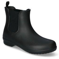 Kalosze Crocs FREESAIL CHELSEA 204630-060 Czarne, kolor czarny
