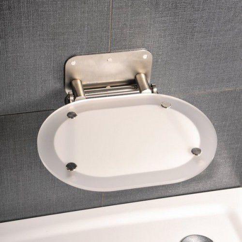 siedzisko prysznicowe ovo chrome clear/stainless b8f0000029 marki Ravak