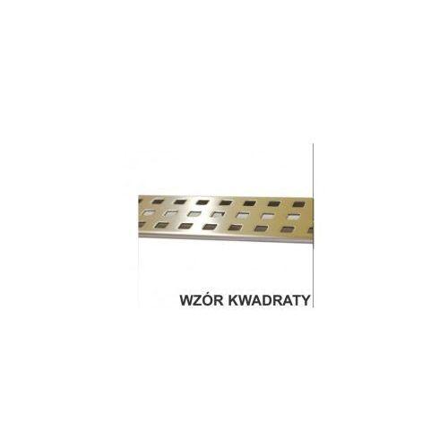 Odwodnienie liniowe 60 ruszt ozdobny - kwadraty XMD020, XMD020