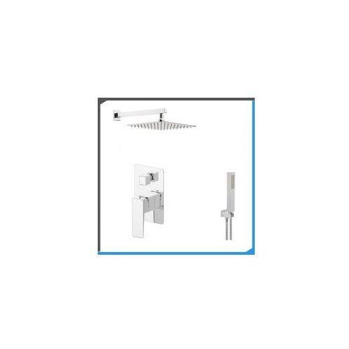 Podtynkowy zestaw prysznicowy z Omnires Parma PM7435, chrom ZEST146