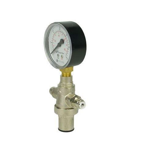 Global water Regulator ciśnienia wody z manometrem