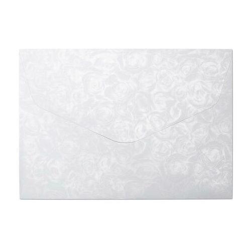 Koperty ozdobne GALERIA PAPIERU C5 op.10 róże białe 120g (5903069029195)