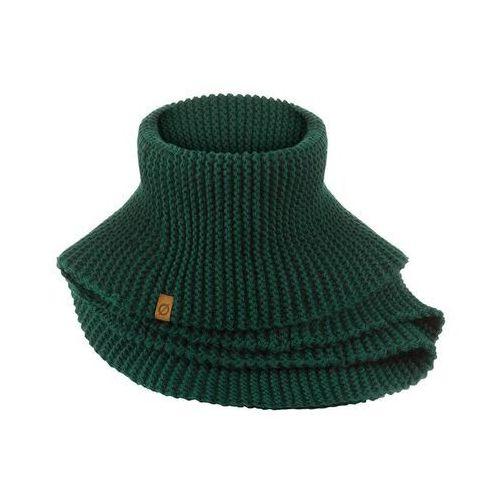 Modny zimowy komin damski k5 9946-green (5901764753360)