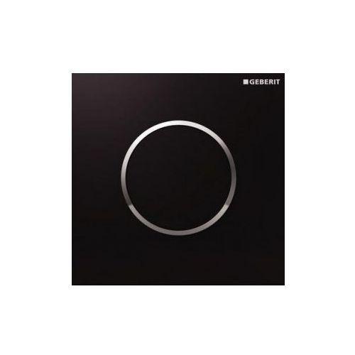 Geberit HyTouch przycisk pneumatyczny zawór spłukujący do pisuaru, ręczny, Sigma10, czarny-chrom bł.-czarny 116.015.KM.1