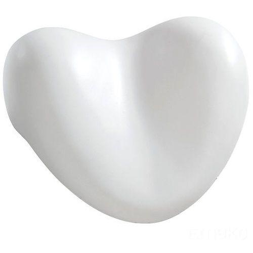 Wenko Poduszka relaksująca do wanny - śnieżnobiałe serce (4008838189368)