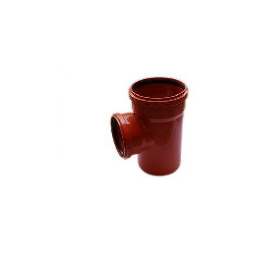 Poliplast Trójnik kanalizacji zewnętrznej kz 200 x 160 / 90° 200 / 160 mm