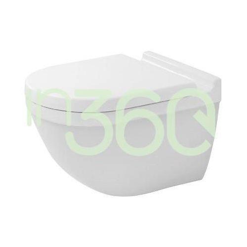 starck 3 rimless miska wc wisząca 54x36 biała bezrantowa 2527090000 marki Duravit