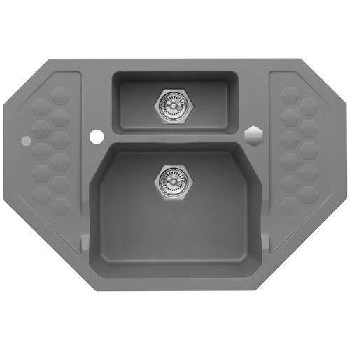 Zlewozmywak ALVEUS Sensual 60 kol. 04 Steel + DARMOWY TRANSPORT!, 4306004