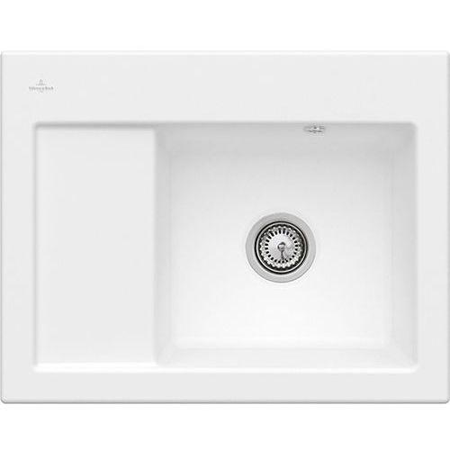 Subway 45 Compact 331301RW - RW Stone White (biały matowy) \ Prawa \ Manualny, kolor biały