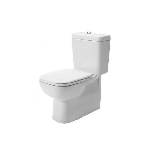 Duravit d-code miska lejowa toaletowa stojąca biała 21180900002
