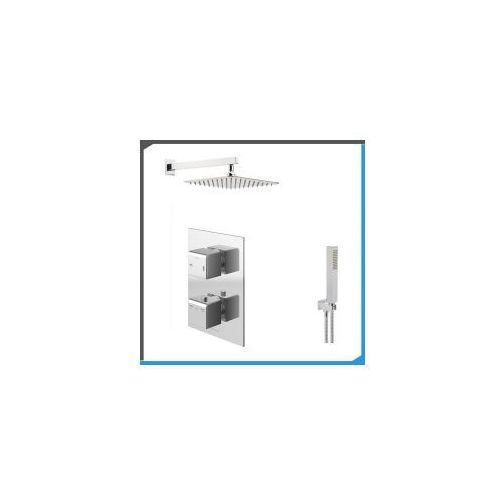 Podtynkowy zestaw prysznicowy oparty na baterii kohlman excelent qw432h zest128 marki Zestawy