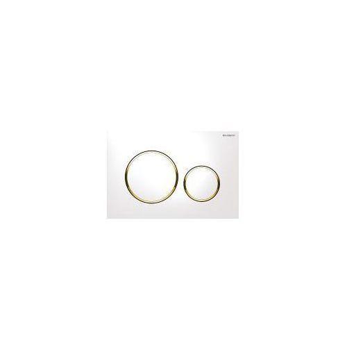 Geberit sigma20 przycisk uruchamiający biały/złoty/biały 115.882.kk.1 (4025416544579)