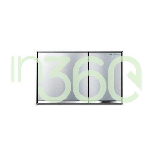 Geberit omega60 przycisk uruchamiający, przedni, chrom szczotk. 115.081.gh.1