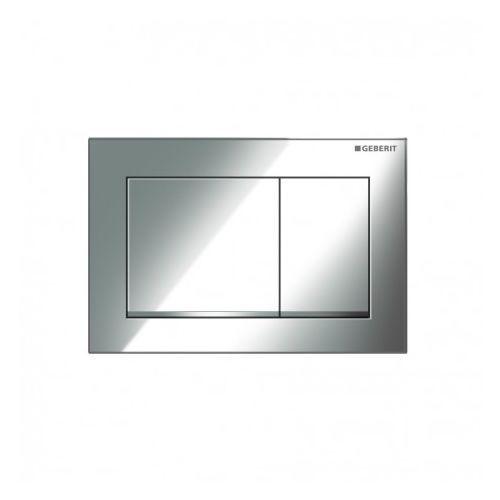 omega30 przycisk uruchamiający, przedni/górny, chrom bł-chrom mat-chrom bł. 115.080.kh.1 marki Geberit