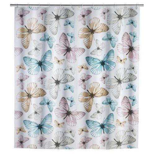 Wenko Zasłona prysznicowa butterfly, peva, 180x200 cm,