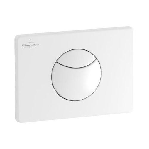 Villeroy&boch przycisk spłukujący e100 biały viconnect 92248568