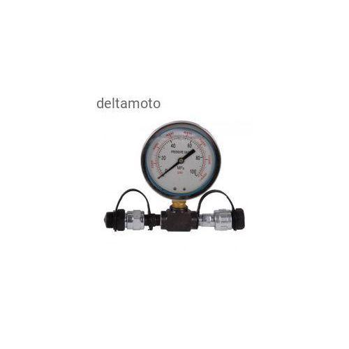 Zupper Trójnik wysokociśnieniowy z manometrem