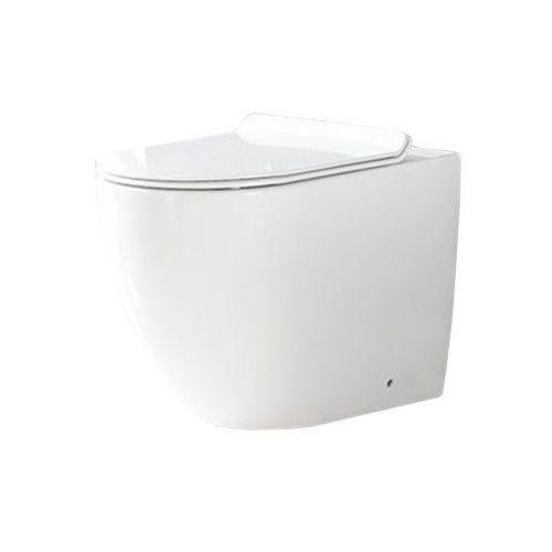 Miska wc stojąca rimless duroplast Carlo Rea (5902557332854)