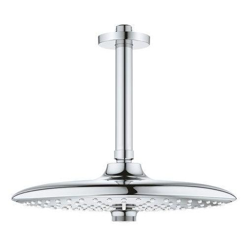 deszczownica ecojoy z przepustem stropowym 142 mm, 3 strumienie euphoria 260 26461000 marki Grohe