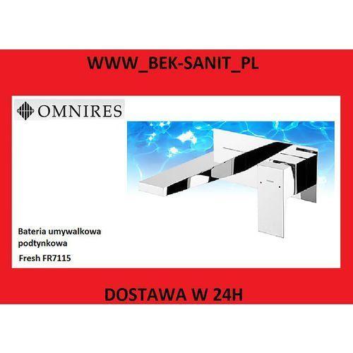 Bateria Omnires Omnires fresh fr7115 bateria podtynkowa umywalkowa. FR7115