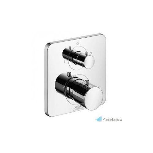 Hansgrohe axor citterio m bateria termostatowa podtynkowa z zaworem odcinająco-przełączającym, eleme