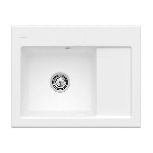 Subway 45 Compact 331201RW - RW Stone White (biały matowy) \ Lewa \ Manualny, kolor biały