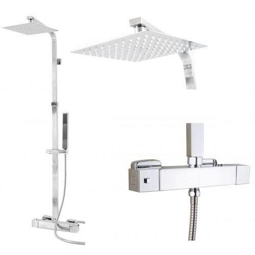 Zestaw natryskowy prysznicowy termostatyczny z deszczownicą aquaslim marki Stellman