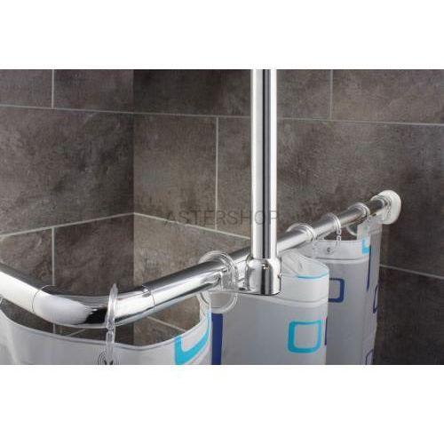 Drążek na zasłonę prysznicową chrom 59500 marki Ridder