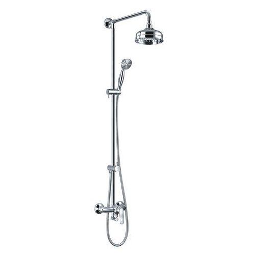 OMNIRES ART DECO Zestaw prysznicowy, chrom AD5144