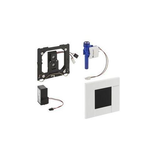 Geberit elektroniczny zawór spłukujący do pisuaru, zasilanie 230v biały bolero (116.022.11.1
