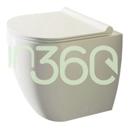 Catalano Sfera Miska WC stojąca 52x35 +śruby mocujące (Z3440) biała 1VPC5200