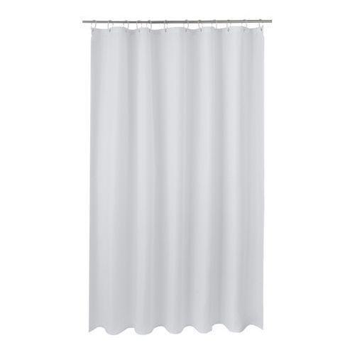 Zasłonka prysznicowa cecina 180 x 200 cm biała marki Cooke&lewis