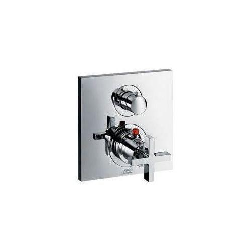 Axor citterio bateria termostatyczna podtynkowa z zaworem odcinającym, z uchwytem krzyżowym, element zewnętrzny 39705000