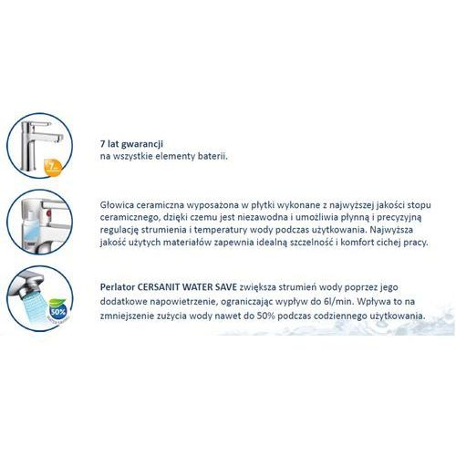 Bateria Cersanit Cersanit cromo s951-050 (chrom) S951-050