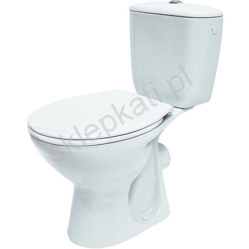 president kompakt wc z odpływem poziomym z deską k08-038 marki Cersanit