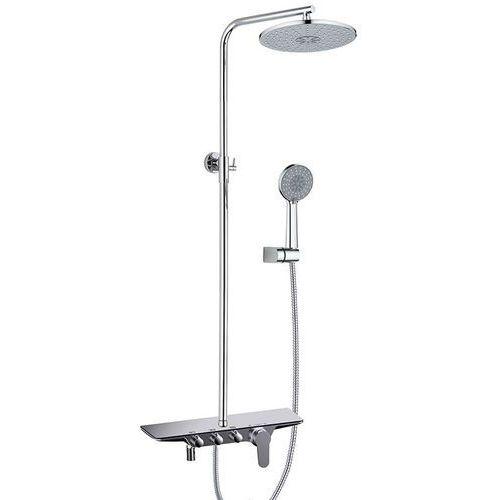 Rea Zestaw prysznicowy chromowany ralf