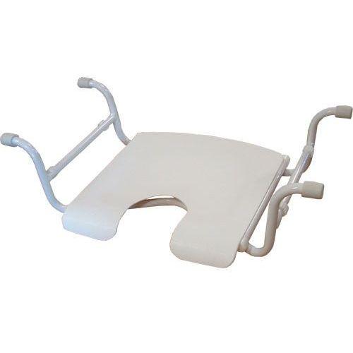 Uniwersalne siedzenie / siedzisko wannowe t31 z wycięciem higienicznym marki Emjan