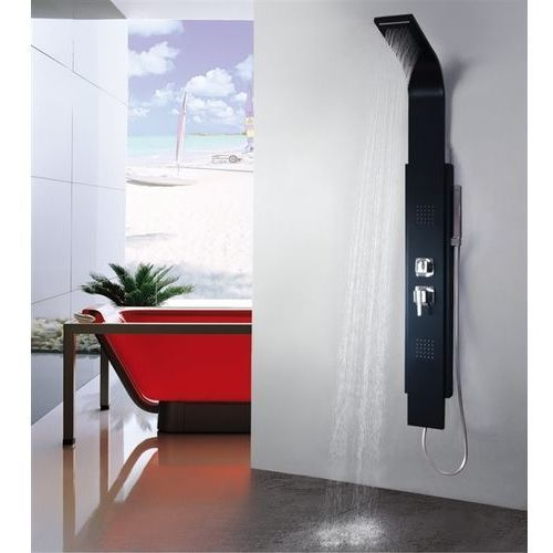 Rea Panel prysznicowy 8725 black