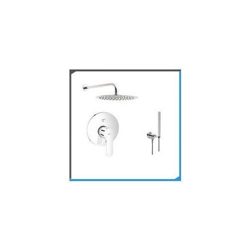 Zestawy Podtynkowy zestaw prysznicowy z baterią grohe bauedge 29079000, chrom zest31