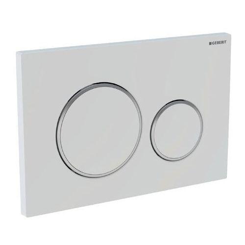 Geberit przycisk uruchamiający sigma 20 biały/złoty/biały 115.882.kk.1