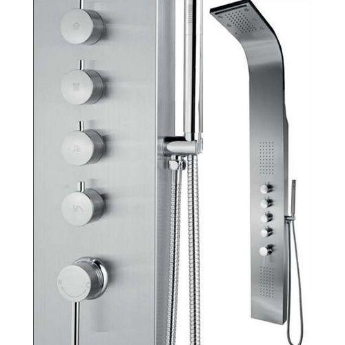 Inea Panel prysznicowy z hydromasażem i oświetleniem in-8839l